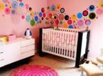 dotty modern nursery idea