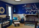 Navy Blue Owls Nursery