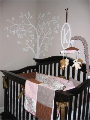 Girly Mod-Sophisticate Nursery