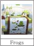 frog crib bedding
