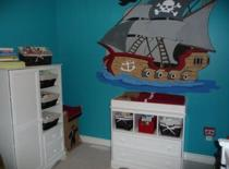 pirate nursery picture