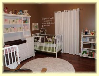 Baby Room Colors on Decorating A Baby Room With A Predominantly Neutral Color Scheme