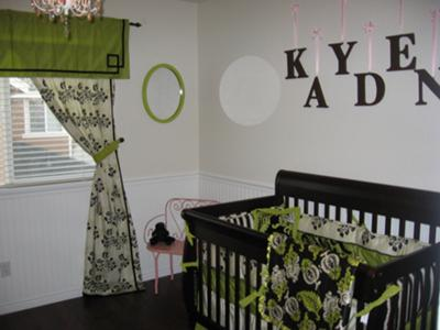 couture baby nursery i got my idea for the colors