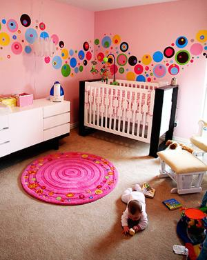 baby care books dotty modern nursery idea by chris moseley