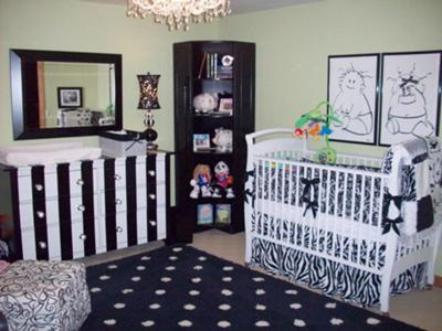 Gender Neutral Twin Nursery. When I found out we were having a boy and
