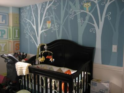 Owls and Alphabet Nursery