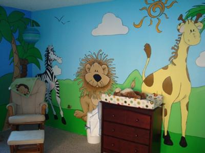 Safari Baby Room
